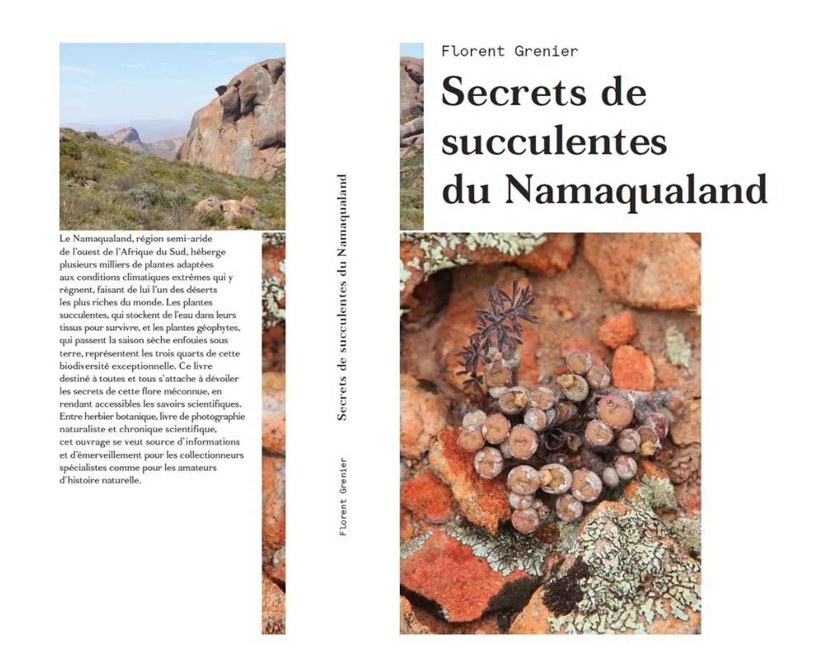 Publication : «Secrets de succulentes du Namaqualand»